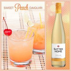Sutter Home Wine Cocktail - Sweet Peach Daiquiri   Sutter Home