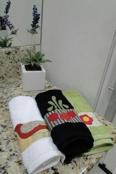 toalhas lavabo