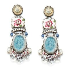 Ayala Bar Spring 2012 'Creamsicle Earrings'. Israel's leading Costume Jewelry designer and exporter. www.ayalabar.com