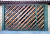 Modelo portão de madeira (EP-316) #portaodemadeira #portaoautomatico #portao #portoes #modelosdeportoes