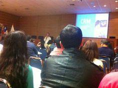 CEO de Dentalink en el II Seminario de Marketing odontologico.