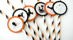 Black And Orange Halloween Decorating Ideas