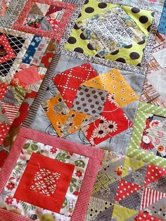 I am now into month 11 of the Amitie Textiles BOM, the Gypsy Wife. Month 10 involved making a whole series of quick and easy blocks a selec...