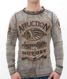 XL Army Green Combo Buffalo David Bitton Mens Sawyer Long Sleeve Shirt