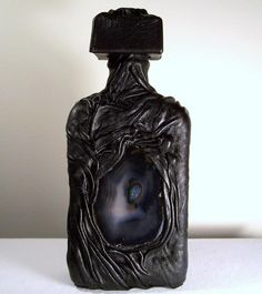 Creepy bottle for a potion