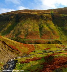 Grey Mare's Trail is a beautiful hike in the Scottish Borders with waterfalls and lochs galore. Enjoy :)