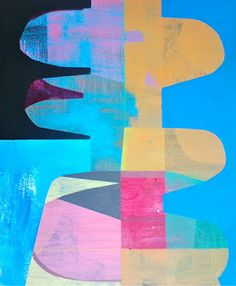 Jim Harris: Artist.: Jim Harris: Ghosts 1964. Acrylic on wood panel 201...