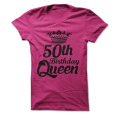 50th Birthday Queen - Black & White