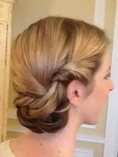 Twisted and Soft updo
