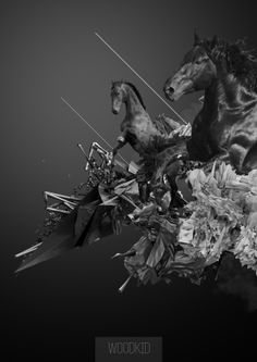 Woodkid poster on Behance
