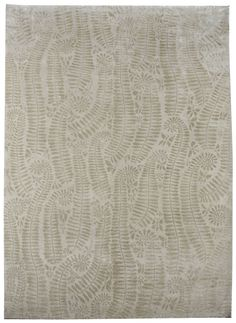 Luke Irwin | White Ferns 1.82m x 2.74m Wool & Silk £4,787 (including VAT) •   Contact the shop about this rug