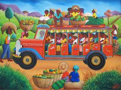 Indigo Arts Gallery | Haitian Art | Jacques-Richard Chery