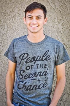 The brand new People of the Second Chance tee is available in the store for $18.    Heather gray with black ink. Super soft cotton. Athletic fit. Inspired by The Bad News Bears.    Perfect look and feel for Fall days. But hurry, they are going fast!