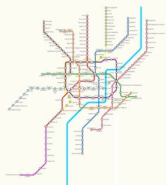 New Shanghai Metro map including lines 9 and 11