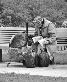 "Homeless. ""It is by the failures and misfits of a civilization that one can best judge its weaknesses""  Photographer Ron Caimano"