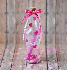 My Wedding Lab: San Valentin is coming: DIY Mensaje en una Botella