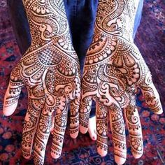 Top Bridal Mehendi Designs for Hands