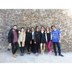 Este es el team ☆ #equipo #shooting #fashion #campaign #SS15 Felicity Urban