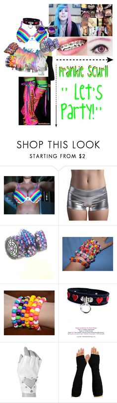 """""""⚫️ Redesigning...⚫️- 🎉 Frankie Scurll 🎉"""" by iron-maiden-amy ❤ liked on Polyvore featuring claire's, WWE, wweoc, wweattire and wweocattire"""