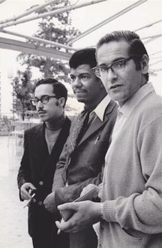 Eddie Gomez, Jack DeJohnette and Bill Evans in 1968, courtesy of Resonance Records