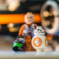I like the new x wing pilot helmets. So does BB-8