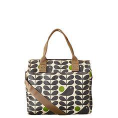 The latest stem bags by Orla Kiely. Bird Clothing, Orla Kiely Bags, Bag Patterns To Sew, Sewing Patterns, Early Bird, Bird Prints, Beautiful Bags, Fashion Handbags, Louis Vuitton Speedy Bag