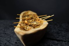 Coriander Groups' Indian canapes, Hors d'oeuvre  - Hyderabadi Prawns