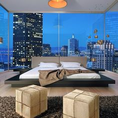Dream bedroom in my multi-million dollar coastal apartment getaway... **You must see it in order to believe it!!!**