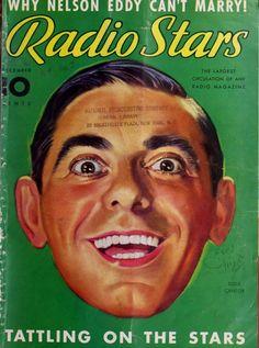 Radio Stars. Eddie Cantor