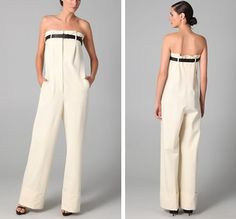 Introducing the trouser jumpsuit.