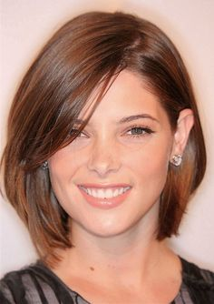 medium bob haircut - length?