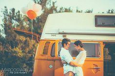 boda original, boda creativa, boda diferente, volkswagen T2 wedding, wedding volkswagen T2, photoshooting volkswagen T1, the love hunters