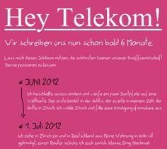 """Liebevolle Aufarbeitung einer """"kleinen Reklamation"""" an die Telekom #shitstorm #telekom"""