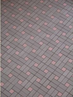 Bathroom tile - this would work in our bathroom since we won't be changing the color pink of sink or shower.