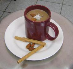 Atole champurrado. Ver la receta http://www.mis-recetas.org/recetas/show/4463-atole-champurrado