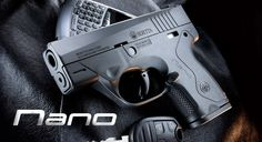 "Beretta BU9 Nano 9x19mm Parabellum  Parabellum-- Latin phrase meaning ""If you wish for peace, prepare for war"" Love It!!"