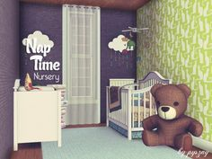 Nap Time nursery by pyszny16 - Free Sims 3 Furniture Downloads The Sims Resource - TSR Custom Content Caboodle - Best Sims3 Updates and Finds
