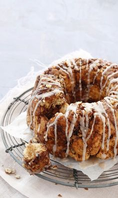 Monkey Bread, Doughnut, French Toast, Deserts, Food And Drink, Sweets, Breakfast, Koti, Baking Ideas