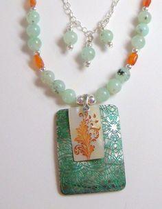 Park Avenue Stroll Necklace by NeeNeeandCheeChee on Etsy, $125.00