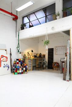 amazing studio space...
