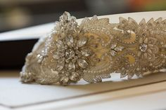 bridal dress embellishment - R02