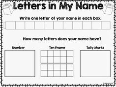 Name Writing Round Up and FREEBIES!