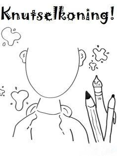 Teken zelf je gezicht in!