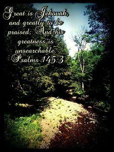 Everywhere we look we see His great works.
