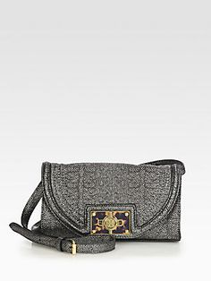 11c19e0db50 Tory Burch - Textured Leather Clutch