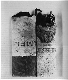 Irving Penn - Cigarette No 37, 1972.