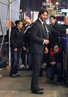 M.A.A.C. – JOHN WICK 2 Starring KEANU REEVES Officially Announced. UPDATE: First On-Set Image