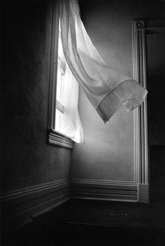 Harold Feinstein, Breezy Curtains, Vermont, 1975