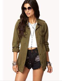 Tough girl utility jacket - forever 21 #foreverholiday
