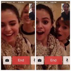 @Demetria Hudson Hudson Hudson Lovato: @Elena Kovyrzina Kovyrzina Gomez THESE are my favorites!!! Haha #saturdaynightfacetimeparty